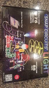 Snap Circuits Light Elenco Snap Circuits Light Kit With Ac Snap Adapter Set