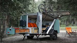 Bike Camper Trailer Modular Camper Trailer Tiny Mobile Home Small House Design Ideas