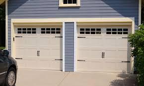 carriage garage doors. Exellent Doors Stamped Carriage Doors On Garage E