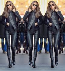 y leather jacket leather leggings boots style fashion jacket leather pants wheretoget
