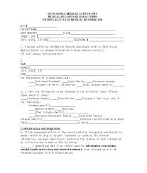 Printable Medical Release Form For Children Stunning 48 Medical Release Form Templates Template Lab