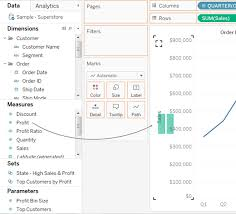 Add Axes For Multiple Measures In Views Tableau