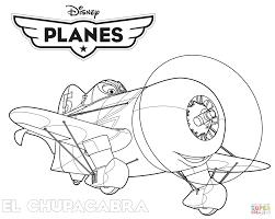 Small Picture Disney Planes El Chupacabra coloring page Free Printable