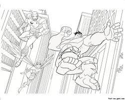 The hulk is practicing the dangerous handshake technique. Printable The Avengers Iron Man Hulk Coloring Pages Free Kids Coloring Pages Printable