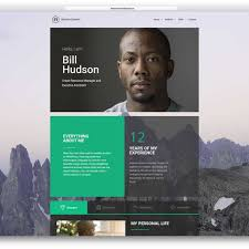 Resume Website Template Creative Online Resume Website Template 100 Best HTML100 VCard And 30