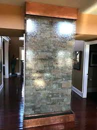 glass waterfall residential stone wall behind glass water wall for an indoor waterfall glass waterfall coffee glass waterfall
