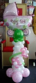 Balloon Columns, Balloon Balloon, Baby Shower Balloons, Baby Shower  Decorations, Baby Gifts, Torres, Globe Decor, Bows, Baby Presents