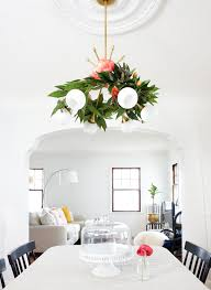 this diy fl chandelier garland is the perfect touch to your living