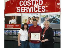 Costco Enfield Certificate Of Appreciation Is Presented To Costco Wholesale