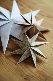 8 Zackige Weihnachtssterne Mit Origami Falttechnik Basteln