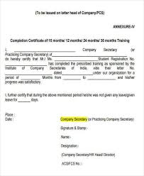 Certificate Of Training Completion Template 19 Free Training Certificates