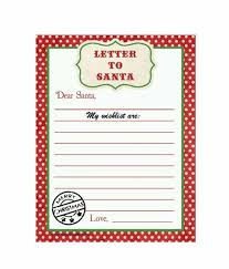 Santa List Template 43 Printable Christmas Wish List Templates Ideas