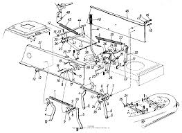 Mtd montgomery ward mdl tmo 659g088 parts diagram for yard machine wiring physical connections layout schematic