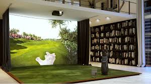 the ultimate in performance and entertainment trackman indoor golf simulator