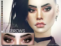 Eyebrows in 18 colors Found in TSR Category 'Sims 4 Facial Hair' |  Sims, Sims 4, Sims 4 cc makeup