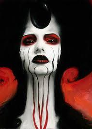 gothic demons makeup