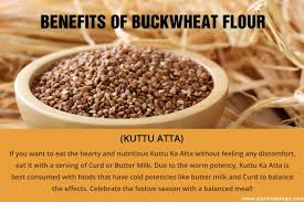 benefits of buckwheat flour kuttu ka atta