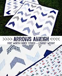 Arrows Aweigh {Boy Quilt} Free Quilt Pattern from Fort Worth ... & Arrows Aweigh {Boy Quilt} Free Quilt Pattern from Fort Worth Fabric Studio  -- Adamdwight.com