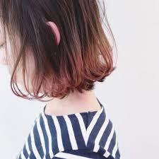 グラデーションカラーでおしゃれ見せやり方とヘアスタイルhair