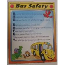 Chart A Bus Bus Safety Chart