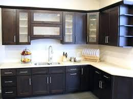 black stone countertop types astounding new kitchen doors cupboard door designs dark brown cherry wood double