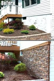 faux stone over brick installing faux stone faux stone siding installation faux stone trailer skirting can