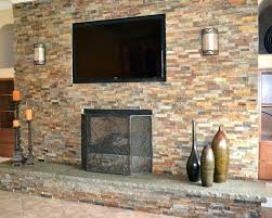 stacked brick fireplace reface fireplace to reface brick fireplace with drywall stunning stone stacked for ideas