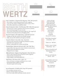 Beth Wertz Resume Design Can Your Resume Take The Heat