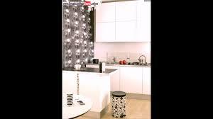 Tapeten Küche Ideen Weiße Küchenschränke Mülleimer Akzentwand