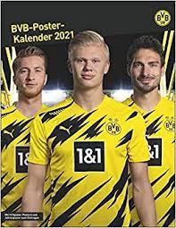 Borussia dortmund bundesliga and uefa continental trophies (borussia dortmund museum, borusseum, signal iduna park).jpg. Borussia Dortmund Posterkalender Kalender 2021 Heye Amazon De Bucher