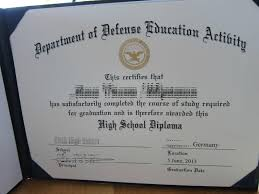 my high school diploma has the coat of arms of the department of  my high school diploma has the coat of arms of the department of defense on it i think it looks overly official