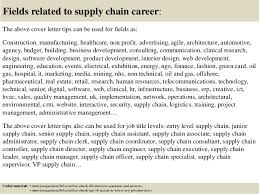 Supply Chain Cover Letter Top 10 Supply Chain Cover Letter Tips