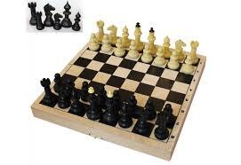 <b>ВладСпортПром Настольная игра</b> Шахматы с шахматной доской ...