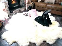safavieh faux sheepskin rug 8x10 soft area fur cowhide interior grey r large rugs polar bear