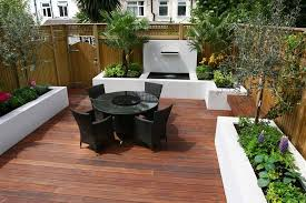 decking designs for small gardens pics on home designing inspiration about inspirational garden ideas for small spaces