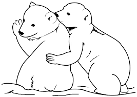 Small Picture 30 Polar Bear Coloring Pages ColoringStar