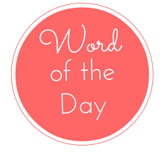 word of the day pages of a career journal real life of an msw i came across this calendar page and was amused that i once upon a time had a 365 day word of the day vocabulary calendar clearly i was trying to build my