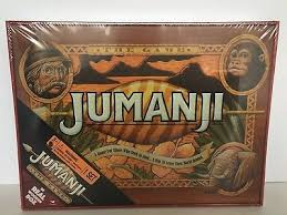 Real Wooden Jumanji Board Game Best JUMANJI BOARD GAME In Real Wood Box Cardinal Edition Sealed 32