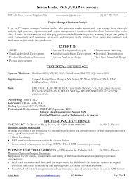 pmp resume sample resume samples project management pmp resume samples for project managers
