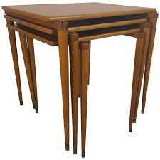danish stackable tables manner of jens quistgaard for nissen for