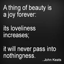 John Keats Quotes A Thing Of Beauty Best of Rugby Is Hot A Thing Of Beauty Is A Joy Forever Its Loveliness