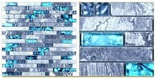 sea glass backsplash blue sea glass kitchen backsplash tile