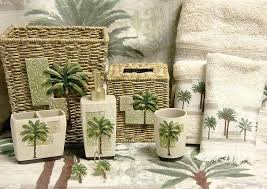 palm tree decor for living room bathroom lovely banana palm tree shower curtain and bath accessories palm tree decor for living room