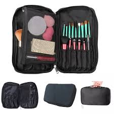 professional makeup brush bag organizer pouch pocket holder kit practical cosmetic tool case