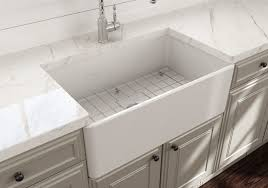 Randolph Morris 30 Inch Single Bowl Farmhouse Sink With Chrome Drain And  Grid