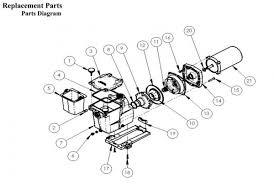 amazon com hayward sp2621x25 super pump 2 5 hp max rated single replacement parts diagram