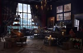 Steampunk-Interior-Design-Style-And-Decorating-Ideas-9 Steampunk