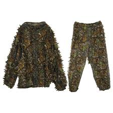 Ghillie Suit Size Chart 3d Leaf Adults Ghillie Suit Woodland Camo Camouflage Hunting Deer Stalking In Buy At A Low Prices On Joom E Commerce Platform