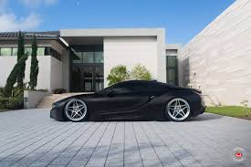 Matt Black BMW I8