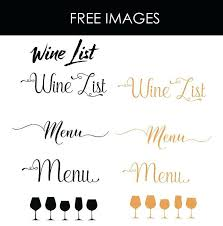 Free Wine List Template Download Home Wine Menu Template Word 273445698707 Free Wine List Template